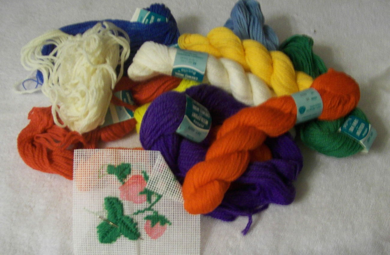 Bucilla needlepoint yarn