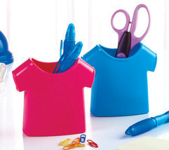 T-Shirt Desktop Holders  Set of 2 Plastic - $9.95