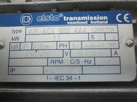Elsto W75U-P90 Transmission with motor AM-AC4-90S-AA4-1286718 image 6