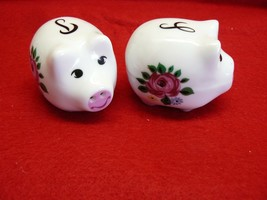 Animal Pig Salt and Pepper Shakers  #122 - $2.99