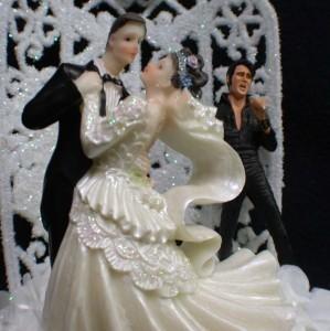 Elvis Presley King Las Vegas Wedding Cake Topper Top 1