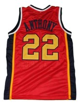 Carmelo Anthony #22 McDonald's All American New Basketball Jersey Red Any Size image 4