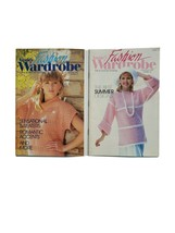 Annie's Fashin Wardrobe Lot Of 2 Vintage March 1990 Sept 1992 - $5.93