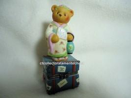 Cherished Teddies Covered Box Across The Seas Japan 1998 NIB - $23.71