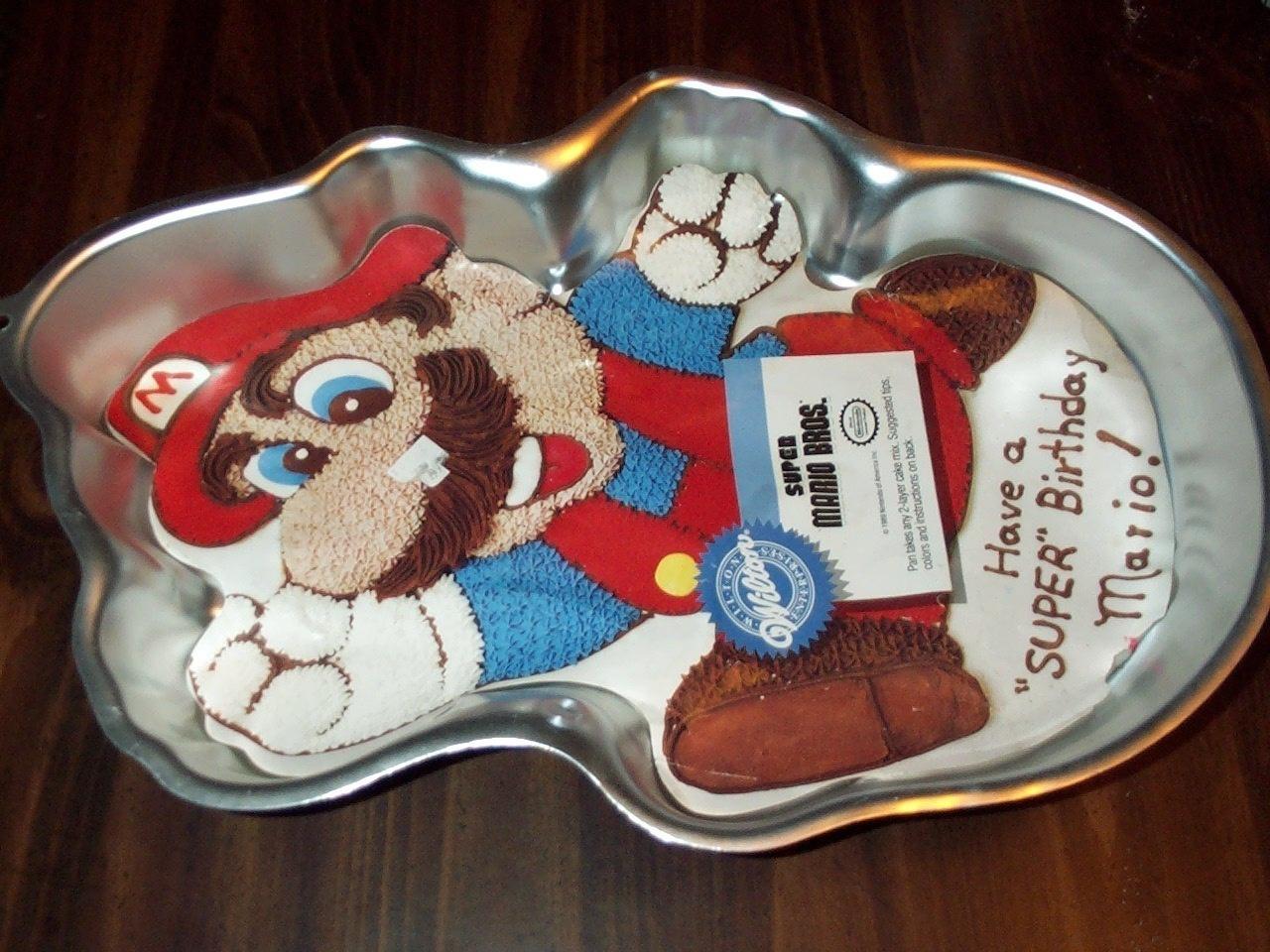 Mario Bros Cake Pan Deals