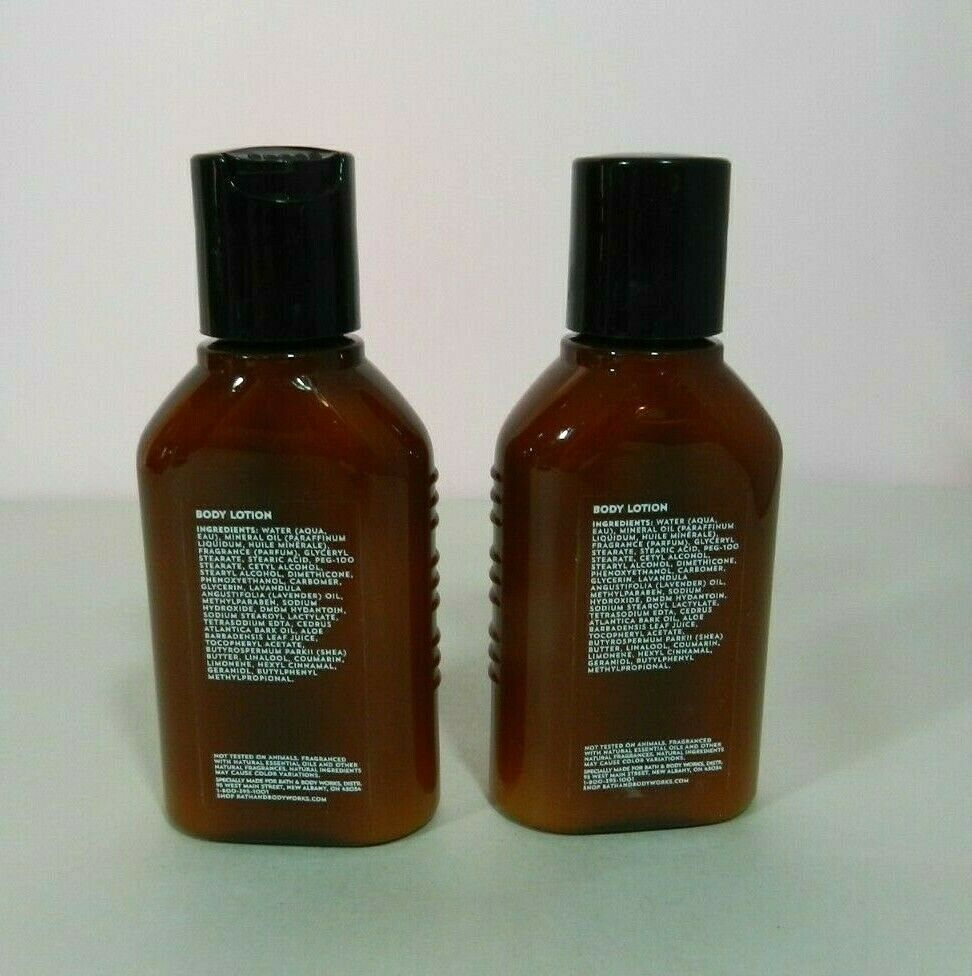 2 Bath & Body Works AROMATHERAPY SLEEP Body Lotion Lavender Cedarwood Travel Sz