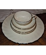 LENOX WEATHERLY 5 Piece Place Setting Dinner B & B Plate Tea Cup Saucer ... - $49.49