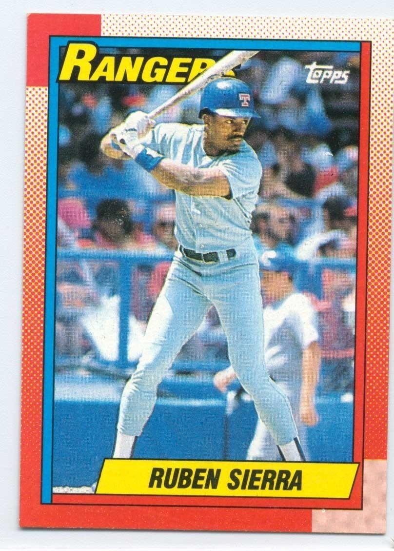 185 Ruben Sierra Topps Baseball Card 1990 And 50 Similar Items