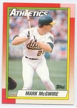 # 690 Mark McGwire Topps Baseball Card 1990 - $0.99