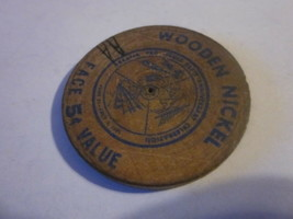 1961 Providence R.I. 325th Anniversary Celebration G/F 5c In Trade Woode... - $9.99