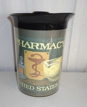 Thermo Serv Pharmacy Vintage United States Postage 8 Cent Stamp Pitcher - $19.75
