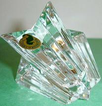 """Waterford Shining Star Paperweight Engraved """"Sparkle of a New Beginning"""" Ireland - $124.90"""