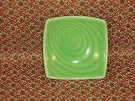 Little Green Swirled Condiment Dish - Mint! - $1.29