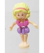 1996 Polly Pocket Doll Vintage  Fountain Fantasy - Polly Bluebird Toys - $7.50
