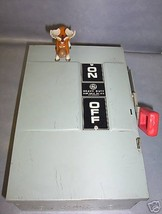 GE Heavy Duty Safety Switch TH3222 60 amp 240V 2P - $90.16