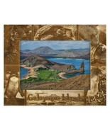 Galapagos Island Laser Engraved Wood Picture Frame (5 x 7) - $30.00