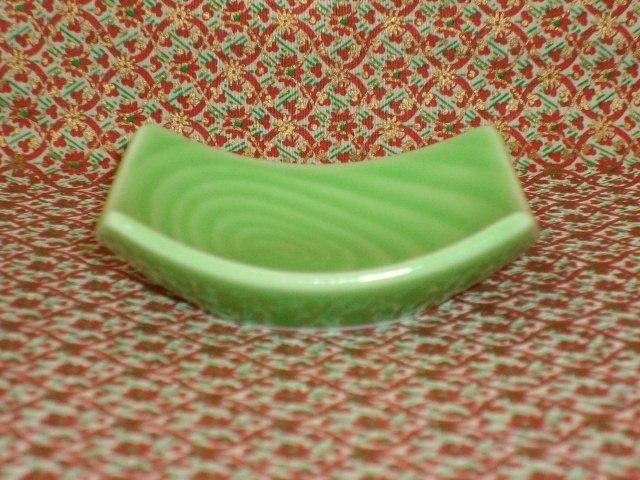 Little Green Swirled Condiment Dish - Mint!