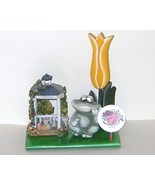 Whimsical Ceramic Frog Floral Spring Gazebo and... - $11.00