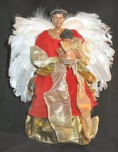 "NIB Berkeley Designs Red Velvet Musical Angel 13"" Doll - $19.99"