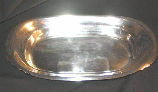 Reed & Barton Silverplate Mayflower Tray Silver 5005 - $18.00