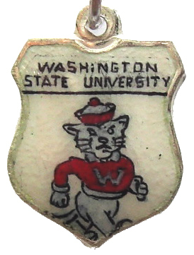 WASHINGTON STATE UNIVERSITY Shield Bracelet Charm