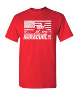 Miracurl on Ice USA Curling Team Miracle American Flag Men's Tee Shirt 1792 - $8.87+
