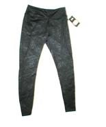 Womens Marika Tek Black Embossed Yoga Pilates Leggings Pants Run New NWT... - $27.60