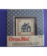 Mini House Ornamat cross stitch chart with doub... - $6.00