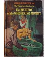 Three Investigators MYSTERY WHISPERING MUMMY 2nd pr HC - $20.00