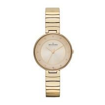 SKAGEN SKW2226 Gitte Gold-Tone Stainless Steel Ladies Watch -- 2 Years W... - $141.72