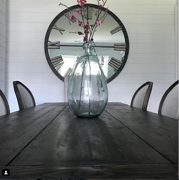 "Restoration Hardware STYLE Modern Farmhouse Industrial Oversized Wall Clock 60"" - $899.00"