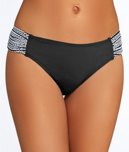 NEW Anne Cole Crochet Shirred Sides Swim Hipster Bikini Bottom XS XSmall - $14.80