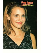 Larisa Oleynik teen magazine pinup clipping Teen Dream Secret of Alex Mack - $12.00