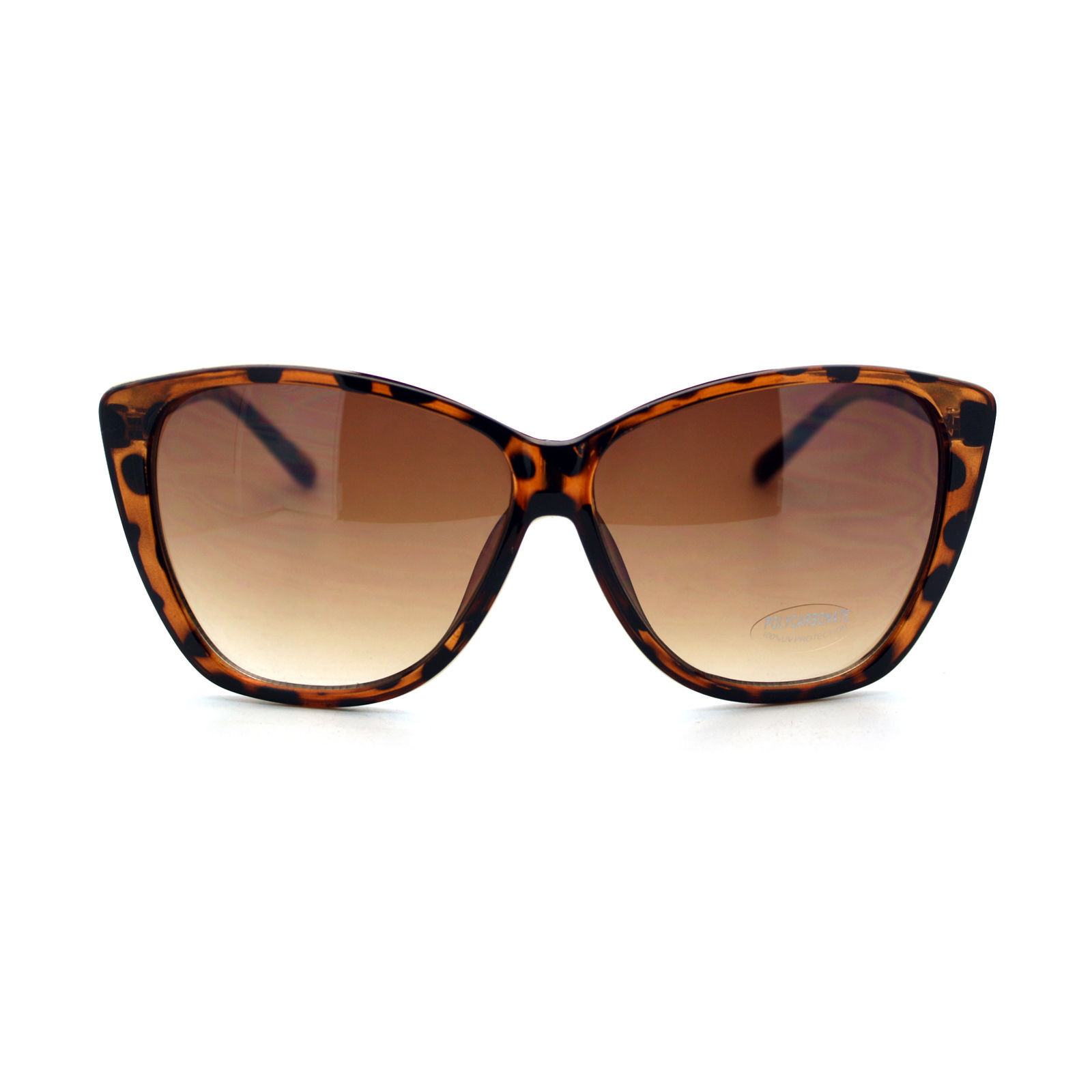 Oversized Square Butterfly Frame Sunglasses Womens Fashion Eyewear