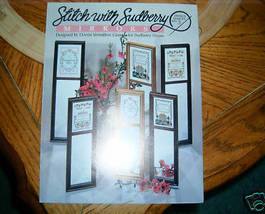 Stitch With Sudberry Mirrors Leaflet No 3 Cross Stitch - $3.00
