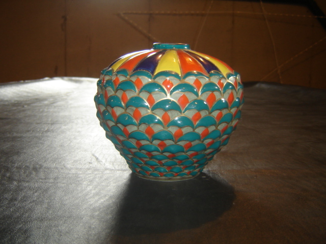 """Hot Air Balloon"" Vase"