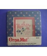 Mini Mother Ornamat cross stitch chart with dou... - $6.00