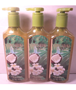 3  Bath & Body Works Deep Cleansing Hand Soap 8 oz Copacabana Coconut - $39.99
