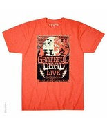 New GRATEFUL DEAD BERKELEY MOON HALLOWEEN LICENSED BAND  T Shirt - $21.99