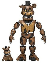 "Funko 5"" Articulated Five Nights at Freddy's - Nightmare Freddy Action F... - $15.71"