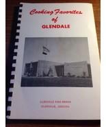 Vtg '60's Community Cookbook Glendale AZ Fire Department Auxiliary Siren... - $23.10