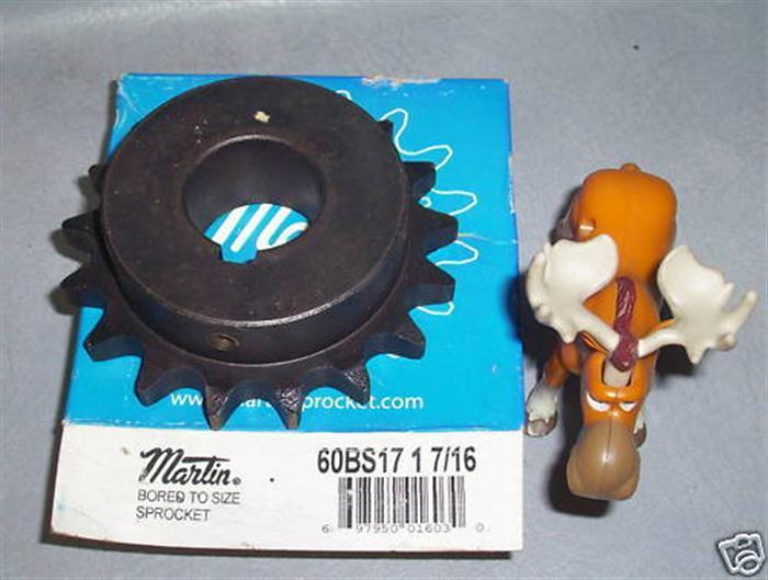 Primary image for Martin Bored to Size Sprocket 60BS17
