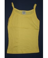 The Cotton Factory Yellow Spaghetti Strap Tank  L NWOT - $3.99