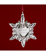 Gorham 2006 Our First Christmas Metal Ornament (RETIRED) - $11.99