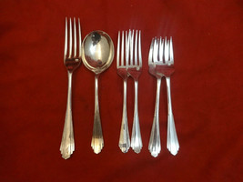 6 Misc Silverplate Pieces by Sheffield in the Lisa  Pattern - $29.00