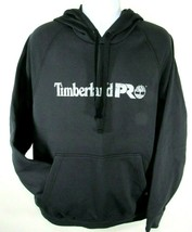 TIMBERLAND PRO A1HVY-015 MEN'S JET BLACK PULL OVER HOODIES Size L, XL - $40.99