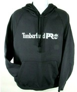 TIMBERLAND PRO A1HVY-015 MEN'S JET BLACK PULL OVER HOODIES Size L, XL - $49.99