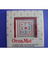 Mini Friend Ornamat cross stitch chart with dou... - $6.00