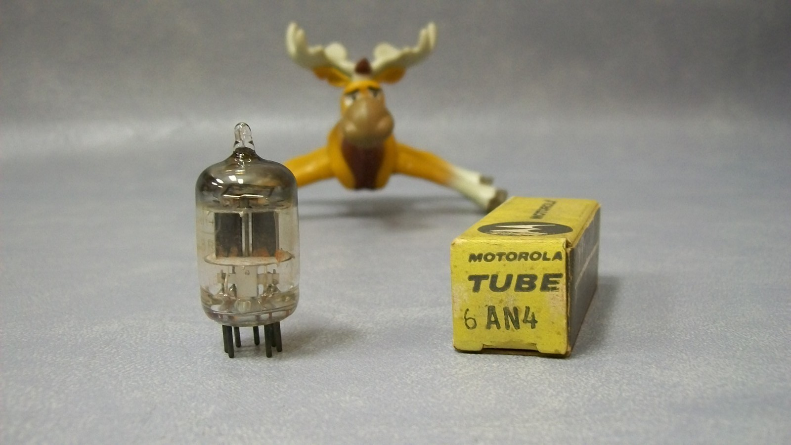 Primary image for Motorola 6AN4 Vintage Vacuum Tube in Original Box
