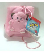 "Pokemon OOP ""Clefairy"" Plush & Pouch Clip * NEW! * Anime - $4.88"
